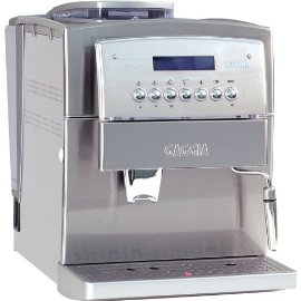 Gaggia 90501 Titanium SS Super Automatic Espresso and Cappuccino Machine, Stainless Steel