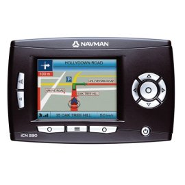 Navman ICN 330 In-Car Portable Navigation