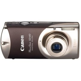 Canon PowerShot SD40 7.1MP Digital Elph Camera with 2.4x Optical Zoom (Twilight Sepia)