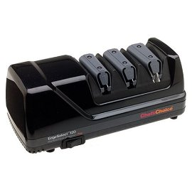 Chef's Choice 120 Diamond Hone 3-Stage Electric Knife Sharpener, Black