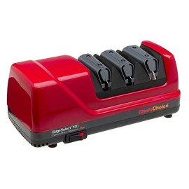 Chef's Choice 120 Diamond Hone 3-Stage Electric Knife Sharpener, Red