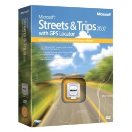 Microsoft Streets and Trips 2007 with GPS Locator [DVD]