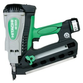 Hitachi NR90GR  Cordless Round Head Gas Framing Nailer