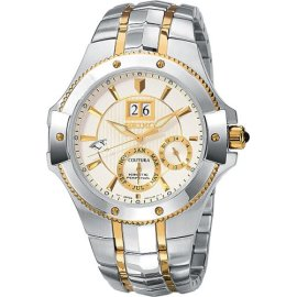 Seiko Men's Kinetic Coutura Watch # SNP008