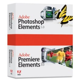 Adobe Photoshop Elements 5.0 Premiere Elements 3.0 Bundle