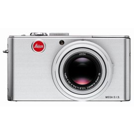 Leica D-LUX 3 10MP Digital Camera with 4x Wide Angle Optical Image Stabilized Zoom (Silver)