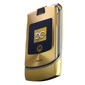Motorola RAZR V3i Dolce & Gabbana Phone (Unlocked)