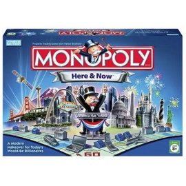 Here & Now Edition Monopoly Board Game