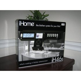SDI iHome IH46B Under Counter Player / Kitchen System with Remote for iPod (Black)