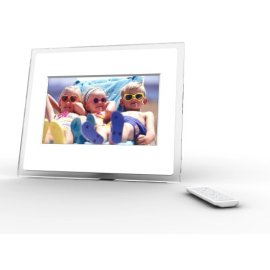 i-mate Momento 100 10.2 Wireless Digital Picture Frame (Clear/White)