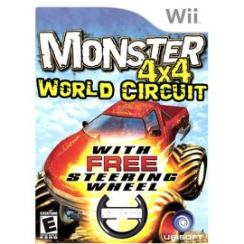 Monster 4X4: World Circuit (with wheel)