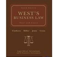 West's Business Law (with Online Legal Research Guide)  10th Edition
