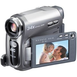 JVC GRD750 MiniDV Camcorder with 34x Optical Zoom