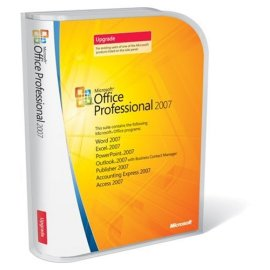 Microsoft Office Professional 2007 UPGRADE