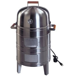 Meco 5029 Stainless Steel Electric Combo Water Smoker