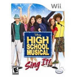 Disney's High School Musical Sing It Wii Bundle with Microphone