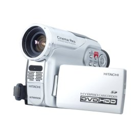 Hitachi DZHS300A DVD Hybrid Camcorder with 25x Optical Zoom & 8GB Hard Disc Drive