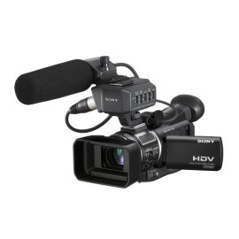 Sony Professional HVR-A1U CMOS HD Camcorder with 10x Optical Zoom