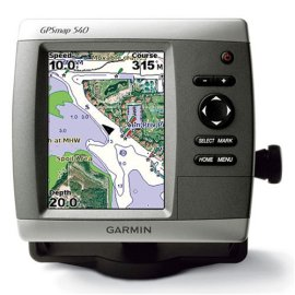 Garmin GPSMAP 540s Chartplotter with Dual Frequency Transducer