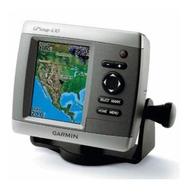 Garmin GPSMAP 430s Chartplotter with Dual Beam Transducer