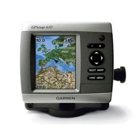 Garmin GPSmap 420s Chartplotter with Dual Frequency Transducer