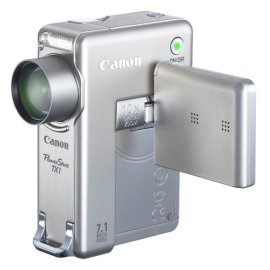 Canon PowerShot TX-1 7.1MP Digital Camera with 10x Optical Image Stabilized Zoom