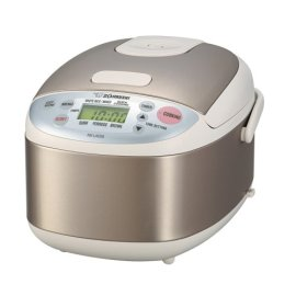 Zojirushi NS-LAC05 Micom 3-Cup Rice Cooker and Warmer, Stainless Steel