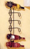 Wall Mount Wine Rack - 6 Bottle