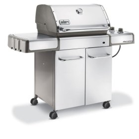 Weber 3770001 Genesis S-310 Propane Gas Grill, Stainless Steel