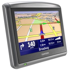 TomTom ONE XL Portable Extra-wide Screen GPS Navigation System