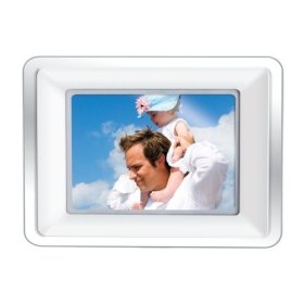 Coby DP772 7-Inch Widescreen Digital Photo Frame with MP3 Player