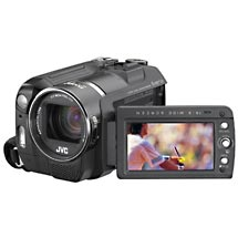 JVC Everio GZMG555 5MP 30GB Hard Disk Drive Camcorder with 10x Optical Zoom