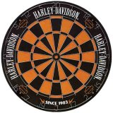 Dart World Harley Davidson Bristle Dartboard
