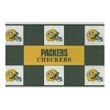 Big League Promotions Green Pay Packers Checkers