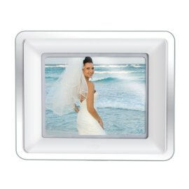 Coby DP882 8 Digital Photo Frame with MP3 Player