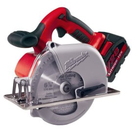 Milwaukee 0740-22 V28 Lithium 6-1/2-Inch Cordless Metal Cutting Circular Saw
