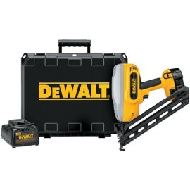 DEWALT DC628K Heavy-Duty XRP 1-1/4-Inch - 2-1/2-Inch 15 Gauge 34 degree Angled Finish Nailer Kit