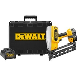DEWALT DC618K Heavy-Duty XRP 18V Cordless 1-1/4 - 2-1/2 16 Gauge 20° Angled Finish Nailer Kit