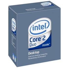 Intel Core 2 Duo E6600 Conroe 2.4GHz 4M shared L2 Cache LGA 775 Processor - BX80557E6600