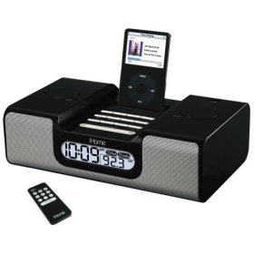iHome iH6 Clock Radio for iPod (Black)