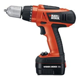 Black and Decker Horsepower D12K-2 12-Volt Ni-Cad 3/8-Inch Cordless Drill/Driver Kit