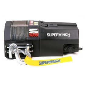 Superwinch S5000 High Performance Utility Series 1.8-horsepower Trailer Winch - 5,000-Pound Capacity