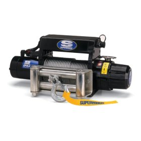 Superwinch 09034 EPi9.0 High Performance Recovery Series 4.6-horsepower Front-Mount Winch - 9,000-Pound Capacity