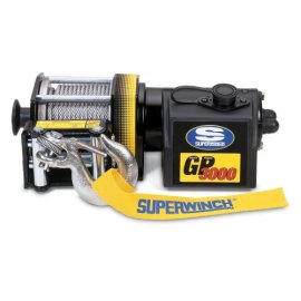 Superwinch 1330200 GP3000 General Purpose Utility Series 1.1-horsepower Winch - 3,000-Pound Capacity