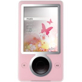Zune 30 GB Digital Media Player (Pink)