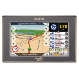 Mio C520 Portable Car Navigation System