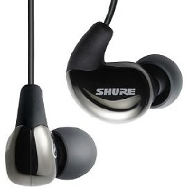 Shure SE530 Sound Isolating Earphones (Black)
