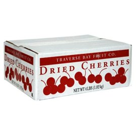 Traverse Bay Dried Cherries (4 lb Box)