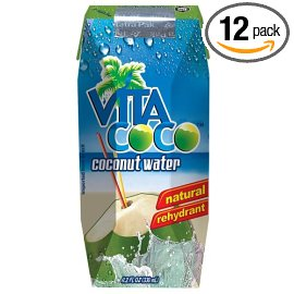 Vita Coco Coconut Water, 11.2oz Juice Boxes (Pack of 12)