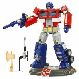 Transformers Optimus Prime 20th Anniversary Figure